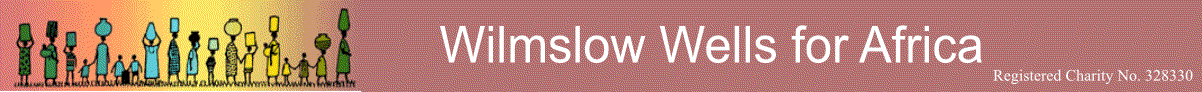 Wilmslow Wells for Africa Logo